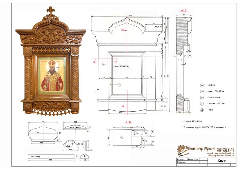 Как сделать иконостас дома размеры